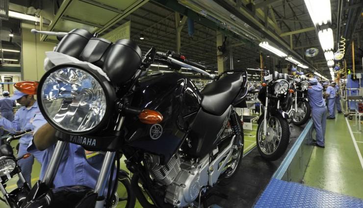 Produção de motocicletas cai 11,9% em setembro, diz Abraciclo