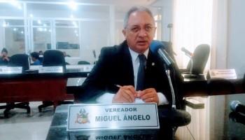 Vereador Miguel Ângelo externa solidariedade ao prefeito Domingos Dutra