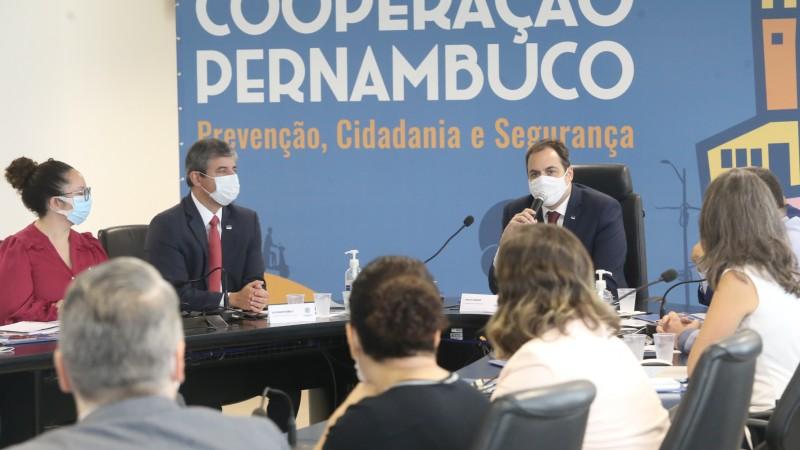 Em workshop, nesta quarta-feira, com a participação da Cooperação Pernambuco, foram apresentadas políticas públicas que visam a redução da criminalidade no Estado