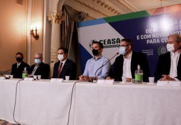 Paulo Câmara anuncia R$ 3,4 milhões de investimentos para obras de ampliação no Ceasa