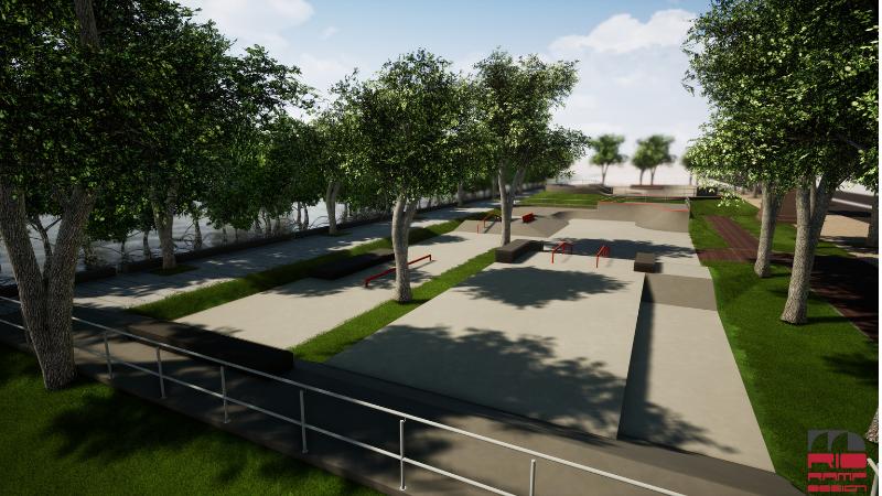 A Prefeitura do Recife vai entregar um parque para skate que vai contemplar a modalidade street e terá padrão para receber competições de nível profissional