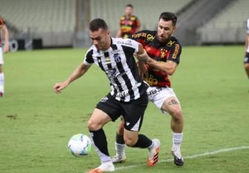 Sport e Ceará não saem do zero no Castelão