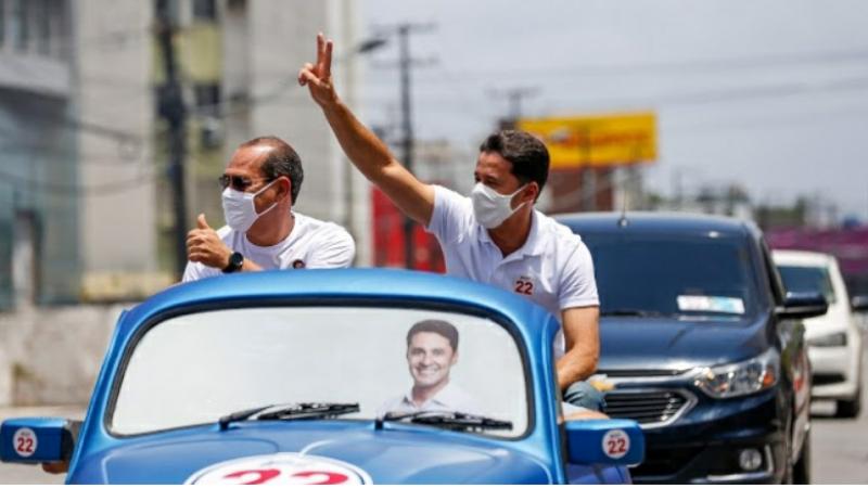 O prefeito é candidato a reeleição em Jaboatão dos Guararapes