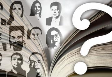 Exclusivo: cadê o livro, candidatos a prefeito do Recife?