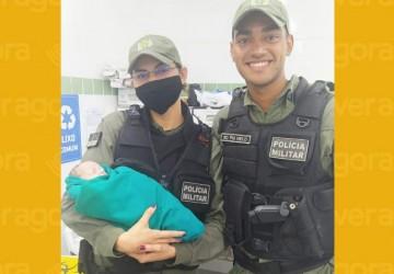 Recém nascido é abandonado em lixo e resgatado por Policiais no Cabo