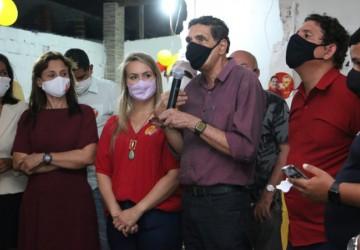 Abre do comitê do PSB de Olinda prestigiado por João Paulo e Vivian