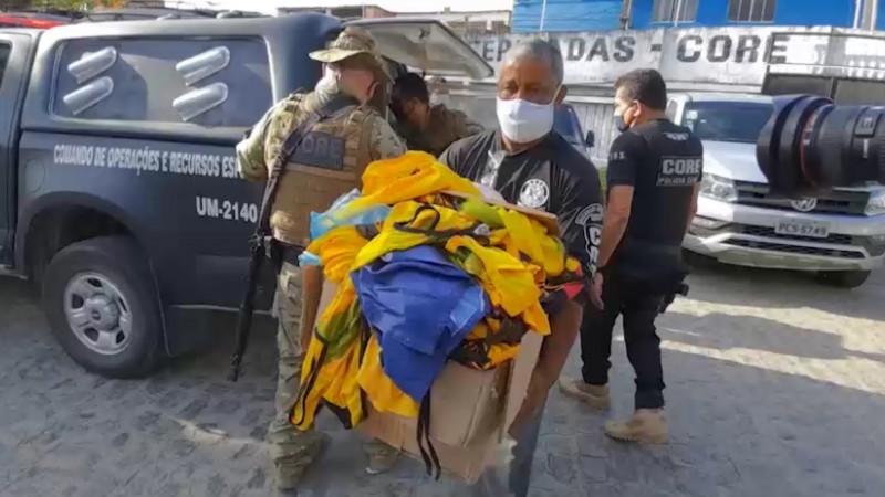 A prisão aconteceu durante a Operação Returno I e II realizada pela Polícia Civil de Pernambuco