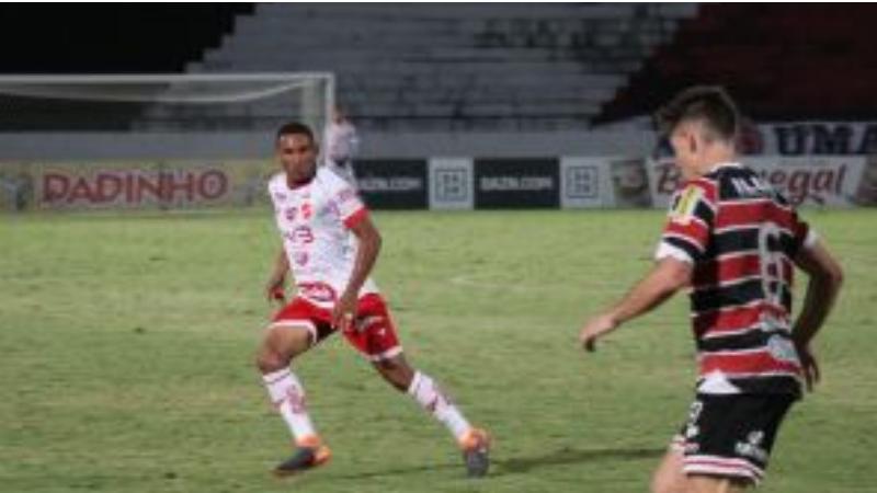 A equipe coral foi derrotada pelo Vila Nova/GO, pelo placar de 2x1 em partida válida pela segunda rodada da fase final.