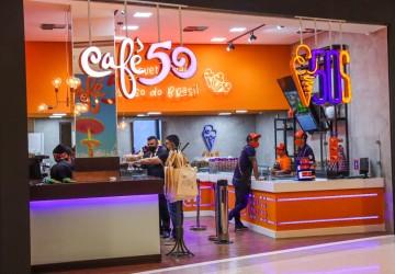 Sorveteria 50 Sabores e Café 50 chegam ao Recife
