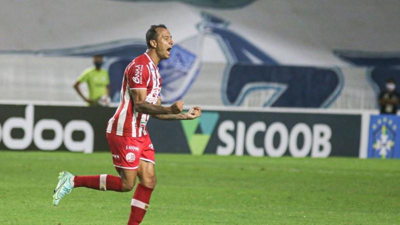 Capitão em Maceió, Vinícius marcou o seu 4º gol neste BR