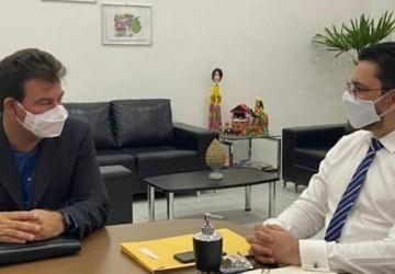Gildo Dias se reúne com secretário Alberes Lopes no Recife