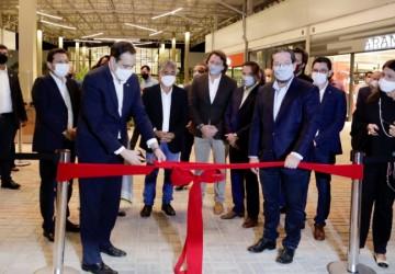 Em Moreno, Paulo Câmara inaugura novo Outlet