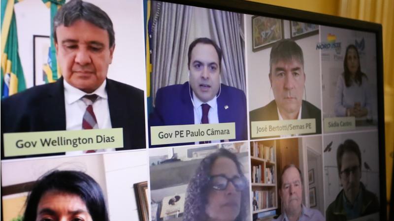 Evento realizado por videoconferência marcou o lançamento do Plano de Ação Ambiental, além da assinatura do acordo de cooperação técnica com a plataforma MapBiomas