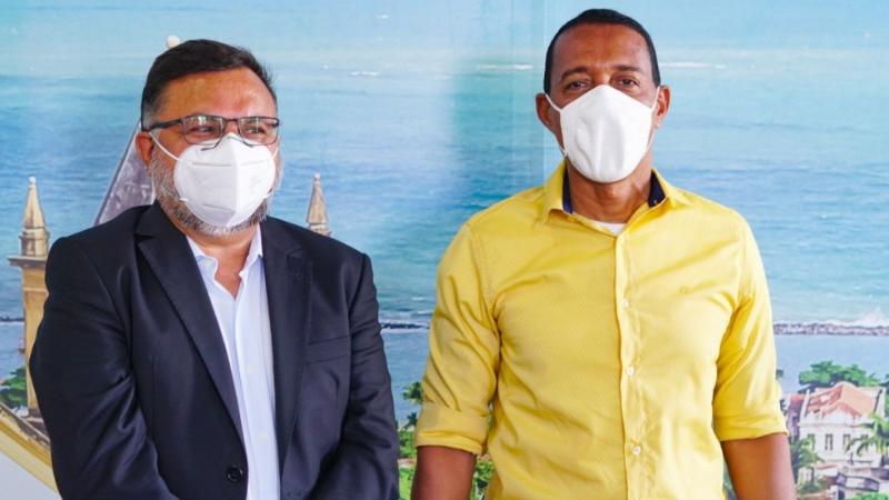 Projeto de extensão foi tema de reunião entre representantes da Universidade Católica de Pernambuco e o prefeito Professor Lupércio