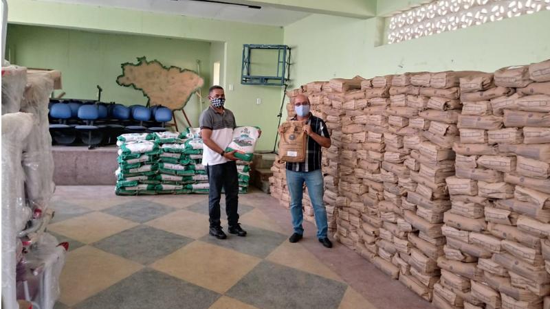O secretário de Desenvolvimento Agrário, Claudiano Martins e o presidente do IPA, Kaio Maniçoba, realizam o lançamento simbólico do Programa Campo Novo, na próxima sexta-feira (19) em Itacuruba e Floresta