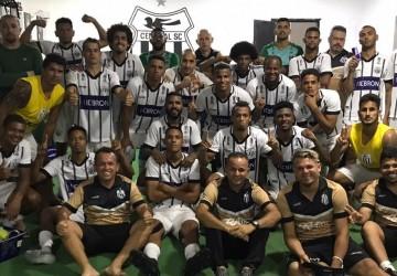 Central conquistou a sua terceira vitória consecutiva na Série D
