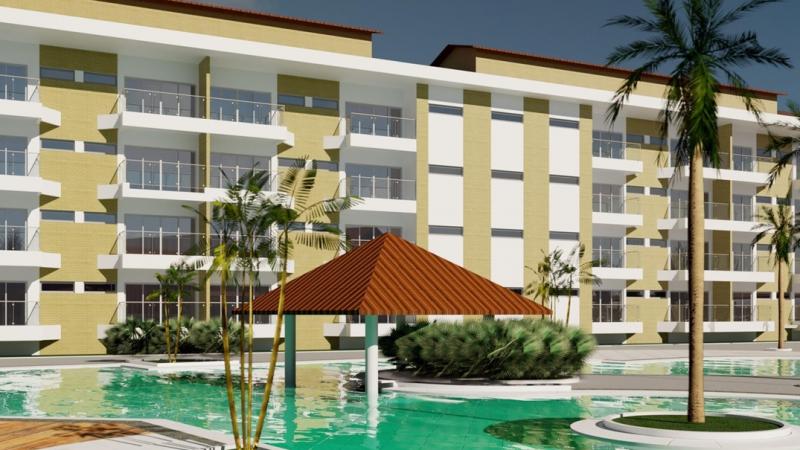 Com um investimento aproximado de R$ 98 milhões, o equipamento hoteleiro vai ocupar um terreno de 10 hectares na Praia de Guadalupe e ultrapassou índice de 60% de construção