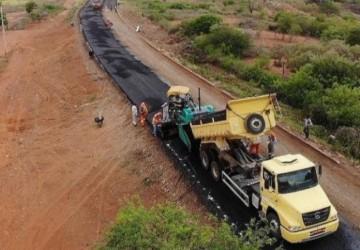 Obras da PE-635 seguem aceleradas no Sertão pernambucano