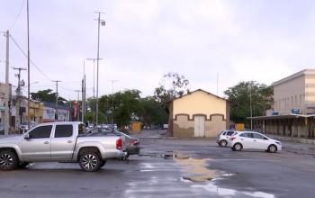 Estação Ferroviária está sendo usada como estacionamento em Caruaru