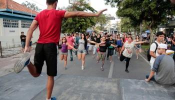 Nossa Avenida realiza encontro de atividade física em ciclovia de Caruaru