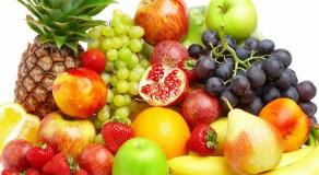 Cuidado com o excesso de frutas!