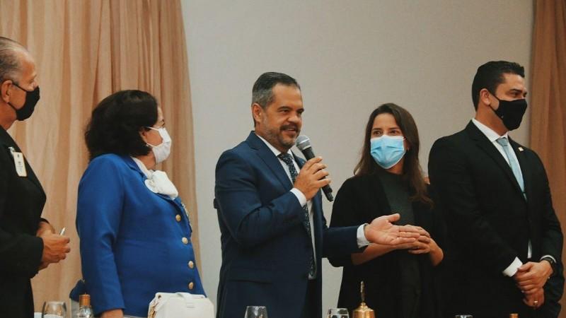 O evento seguiu todos os protocolos sanitários por conta da pandemia da Covid-19 e contou com a presença de associados e autoridades.