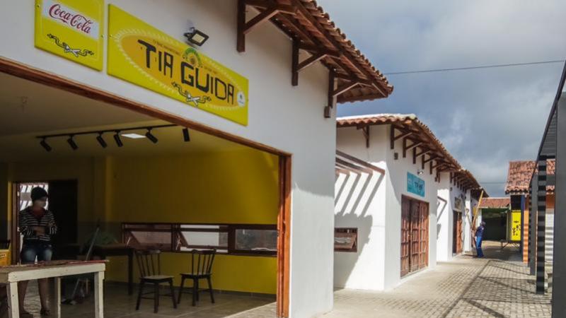 Localizado no coração do Parque 18 de Maio, o espaço abriga seis restaurantes