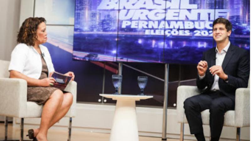 Em entrevista à TV Tribuna, o candidato a prefeito do Recife fez um balanço dos seus principais projetos e defendeu o combate à desigualdade social