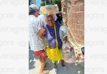 Contra a fome, Copergás doa mil cestas básicas