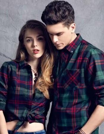 Roupa xadrez, camisa, blazer, estampa está na moda inverno 2019