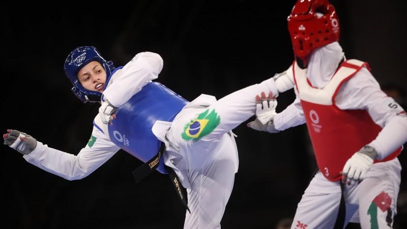Atleta do Time Ajinomoto disputou quatro lutas até chegar na disputa de medalhas, porém não superou a experiente Ruth Gbagbi, que ficou em 3º no Rio, em 2016