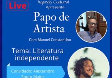 Literatura Independente é tema de Live promovida pela Agenda Cultural do Recife