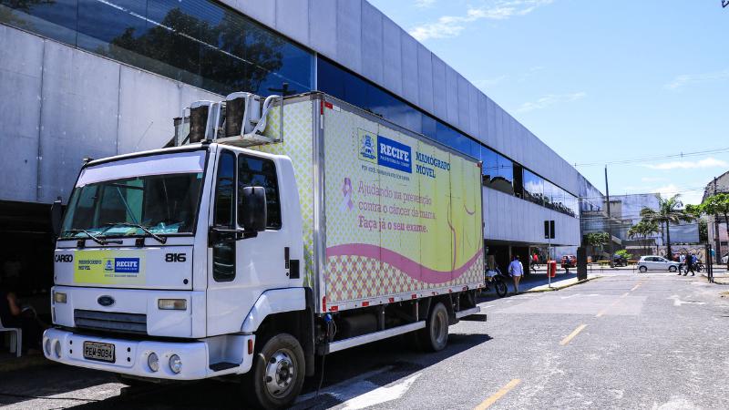 Atividades começam nesta quarta-feira (4) e o caminhão circulará em 18 ações nos oito Distritos Sanitários da capital pernambucana