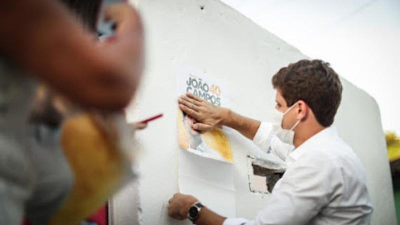 Candidato da Frente Popular fez campanha nas localidades respeitando os protocolos estabelecidos pelas autoridades de saúde e eleitorais