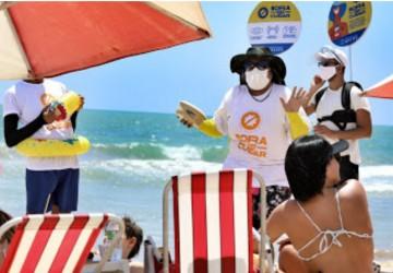 Prefeitura do Recife intensifica campanha sobre Covid-19 nas praias