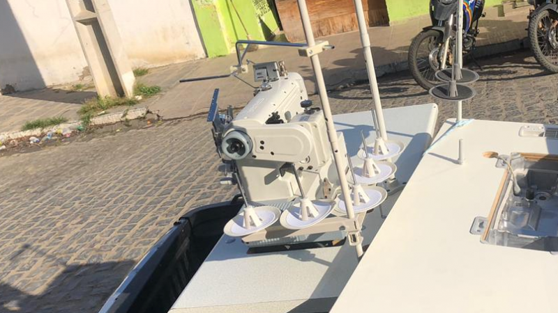 Os equipamentos tinham sido roubados no Distrito de Pão de Açúcar.