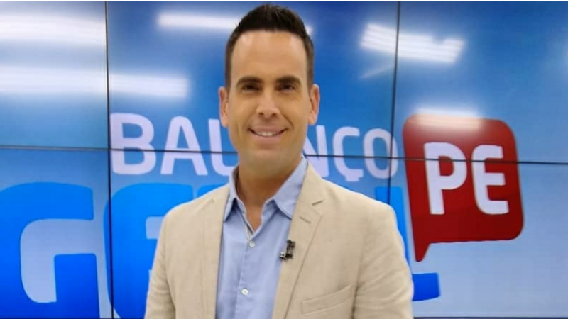 O apresentador e jornalista deixou sua antiga casa a TV Clube (Record TV)