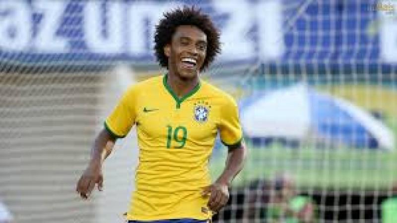Willian, que esteve na última Copa do Mundo, não entra em campo pela Seleção desde a vitória sobre Camarões por 1 a 0, no dia 20 de novembro do ano passado