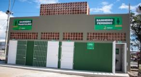 Novas baterias de banheiros são entregues no Parque 18 de Maio, em Caruaru