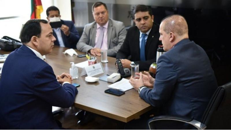 O prefeito eleito de Garanhuns teve diversas reuniões acompanhado do Deputado Fernando Rodolfo