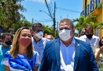 Eriberto Medeiros vai a Sirinhaém e reafirma compromisso com Camila Machado