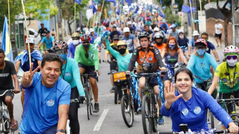 Candidato a prefeito pelo DEM denunciou o descaso da atual gestão com o trânsito e a mobilidade urbana e firmou compromissos com associações de ciclistas