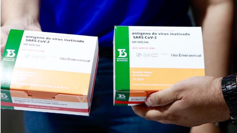 Terceiro lote do imunizante daSinovac/Butantan chegou nesse domingo (07)em solo pernambucano, e será destinado aos trabalhadores de saúde