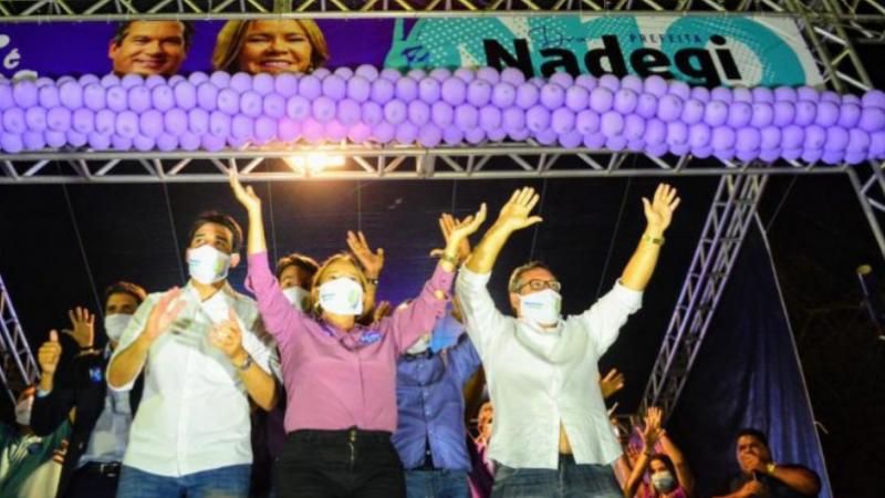 Nadegi émédica, já foi secretária de saúde do município de São Lourenço da Mata e atuou como deputada estadual e vereadora de Camaragibe.