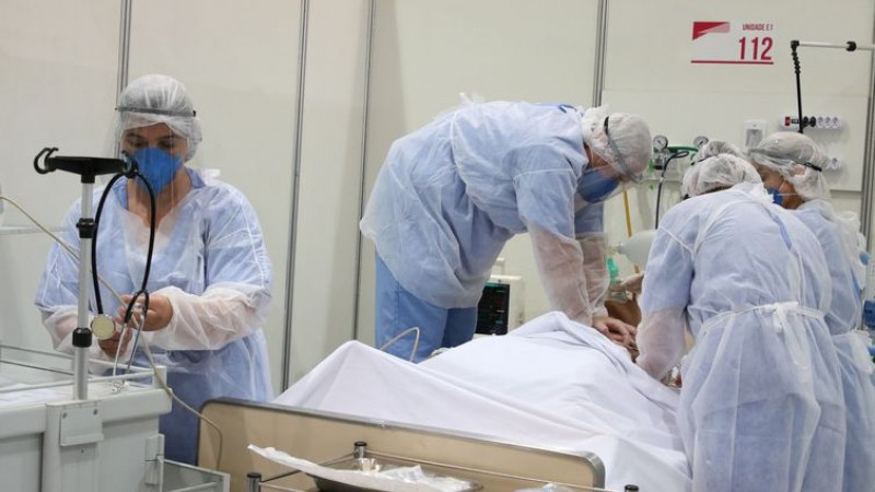 Vagas serão para médicos intensivistas, enfermeiros e fisioterapeutas
