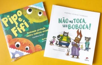 Livros ensinam sobre prevenção de violência infantil