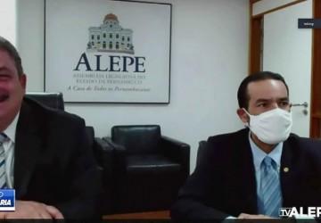 Alepe interrompe recesso para votar projetos voltados à pandemia