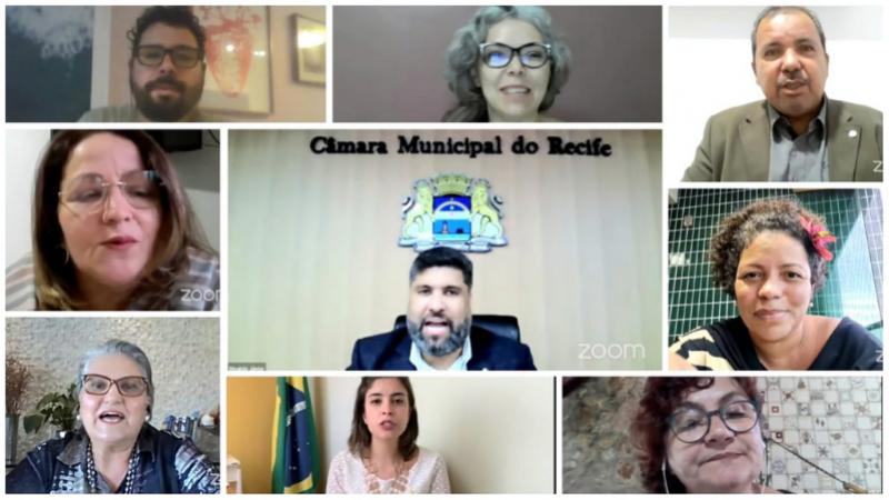 A Frente é Composta pelos vereadores Rinaldo Júnior (Presidente da Frente), Eriberto Rafael (Vice-Presidente), Professora Ana Lúcia, Cida Pedrosa, Dani Portela, Hélio da Guabiraba, Liana Cirne e Renato Antunes.