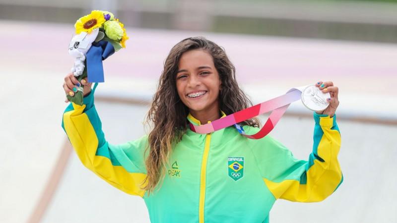 Atleta é a mais jovem na história a conquistar uma medalha para o país