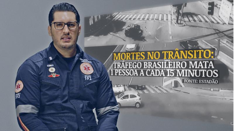 Peças publicitárias fazem parte da programação educativa do Maio Amarelo no Recife e trazem a mensagem de respeito à velocidade estabelecida na via